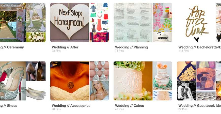 Tips For Planning A Wedding On Pinterest