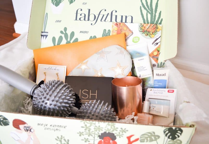 FabFitFun Subscription Box – Spring 2018 Box Revealed + $10 Off Code!